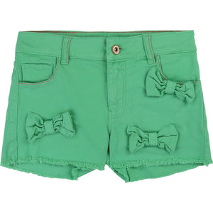 Bow Shorts Green