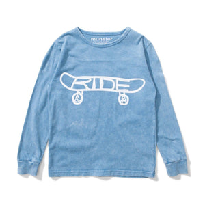 Ride Jersey LS Tee - Acid Blue