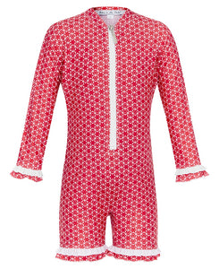 Pinwheel Red UV Sun Suit