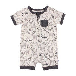 Go West Critters Romper