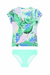 Girls Miami Vice S/S Surf Set