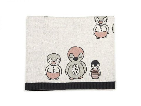 Baby Blanket - Poly Penguin