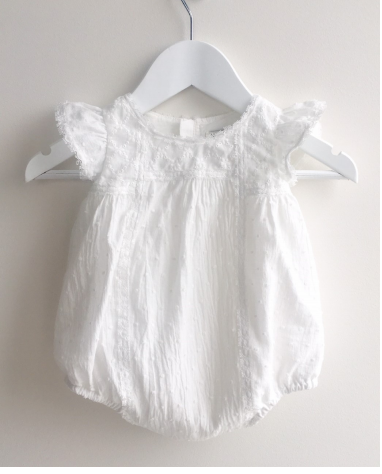 Milk White Playsuit
