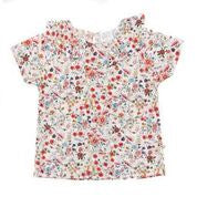 Willow Top White Floral