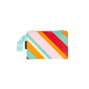 Mini Zip Pouch - Candy Stripes