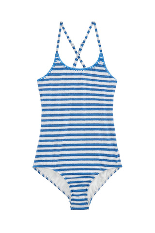 Stripe Tank Hawaii Blue