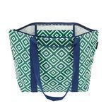 Medium Zip Up Tote (The Traveller)  - Square Geo