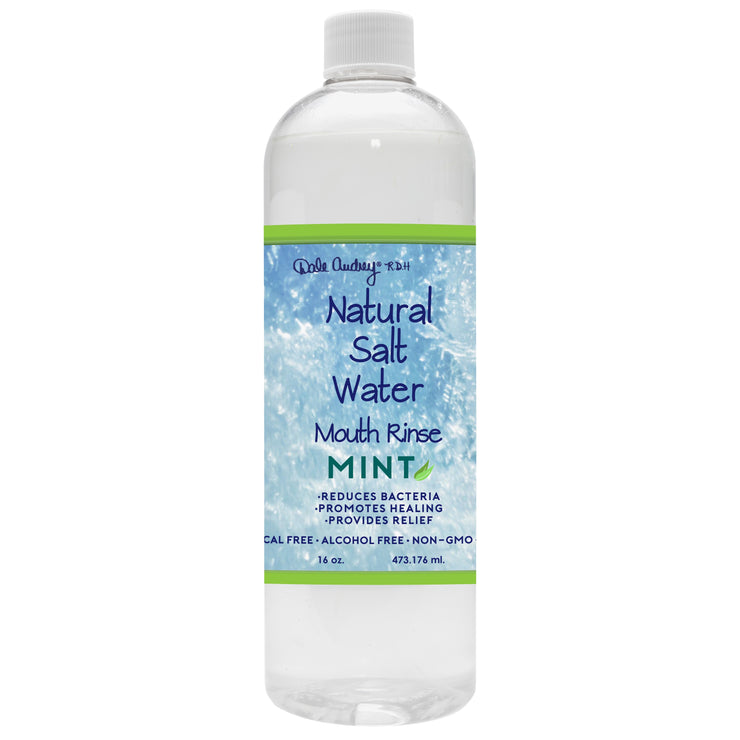 Natural Salt Water Rinse 16oz