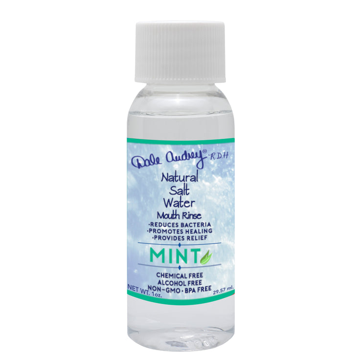 Pink Himalayan Natural Salt Water Mouth Rinse