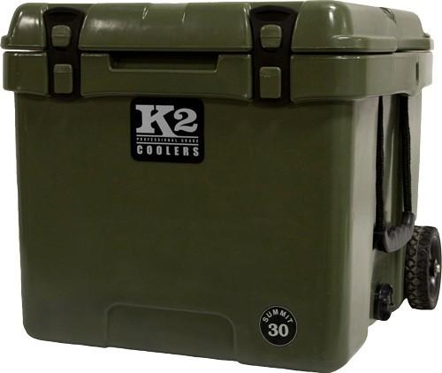 K2 Coolers - Summit Series 30 Quart Duck Boat Green with Wheels!
