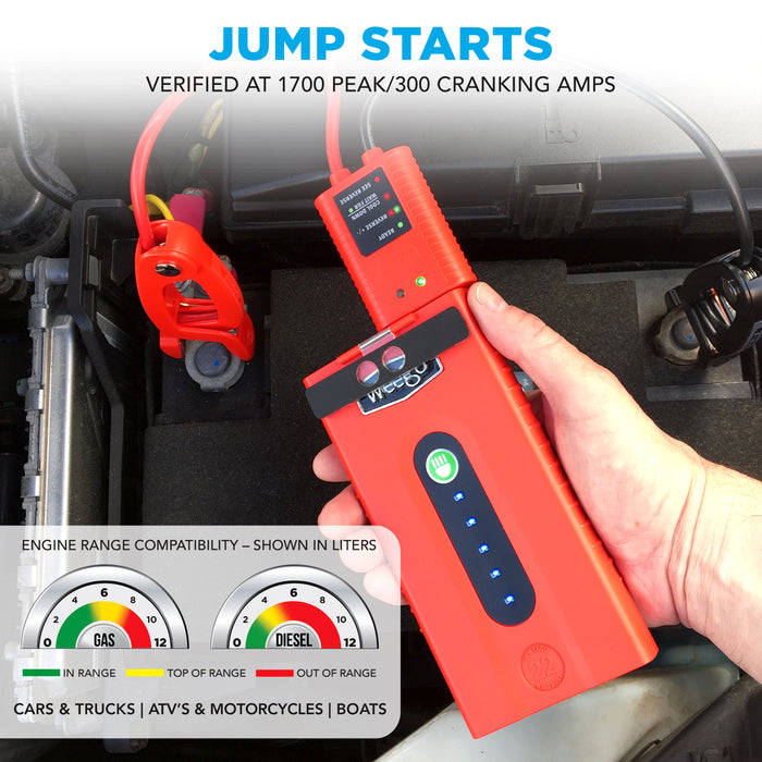 WEEGO 22 - Jump Starter & Battery Pack