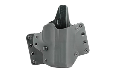 BLACKPOINT LEATHER WING OWB HOLSTER FOR S&W M&P 9/40 RH BLK