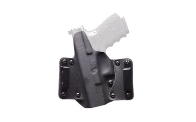 "BLACKPOINT LEATHER WING OWB HOLSTER FOR 1911 5"" RH BLK"
