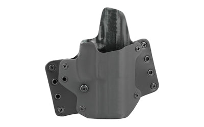 BLACKPOINT LEATHER WING OWB HOLSTER FOR HK VP9 RH BLK