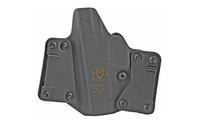 BLACKPOINT LEATHER WING OWB HOLSTER FOR GLOCK 48 RH BLK