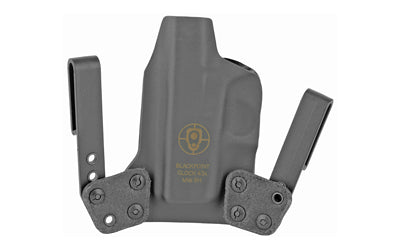 BLACKPOINT MINI WING IWB HOLSTER FOR GLOCK 43X RH BLK