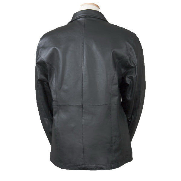 Women's Fitted Leather Jacket (Bullet Proof)