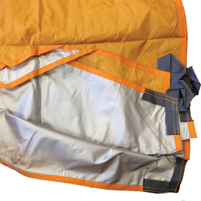 Hex Tarp, Orange/Reflective