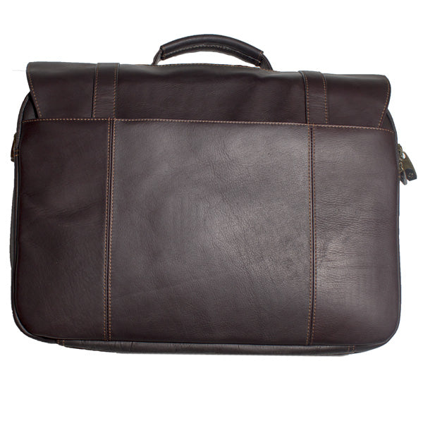 Leather Messenger Bag (Bullet Proof)