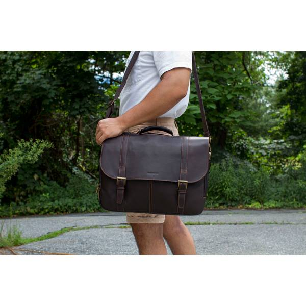 a70b18cdf06a Leather Messenger Bag (Bullet Proof) — All Emergency Supplies