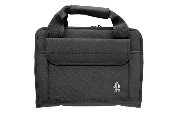 Leapers, Inc. - UTG, Deluxe Double Pistol Case, Black