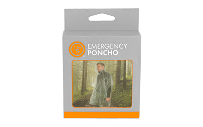 UST EMERGENCY PONCHO CLEAR