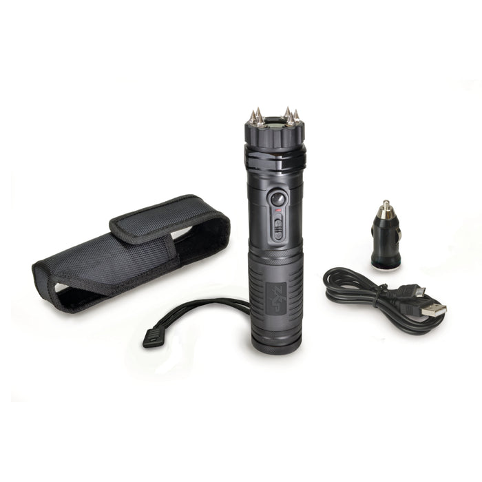 ZAP Light Extreme Stun Device / Flashlight – 1 Million Volts with Spike Electrodes