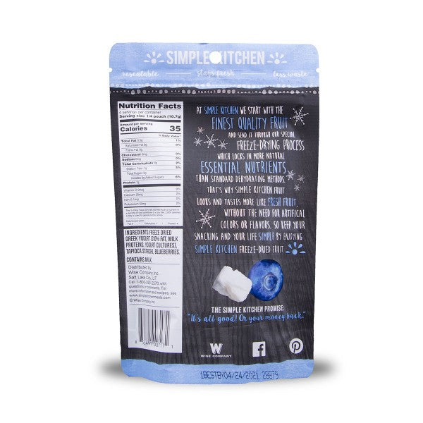 Freeze-Dried Blueberries & Yogurt - 6 Pack