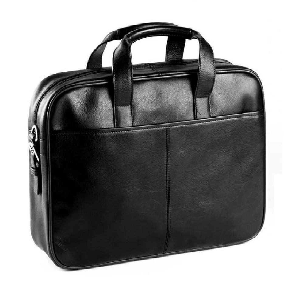 Leather 2-Handle Briefcase (Bullet Proof)