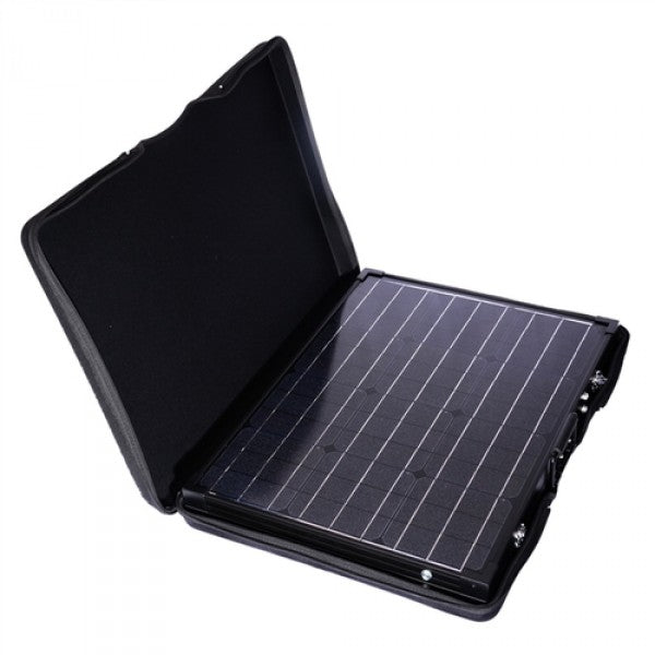 130 Watt 12 Volt Foldable and Portable Solar Panel