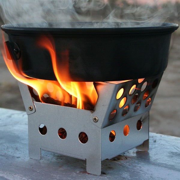 Cube Stove + 2 Fire Starters