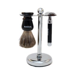 Ebony Shaving Trio (set)
