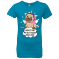 I DIDN'T FART MY BUTT BLEW YOU A KISS Girls' Princess T-Shirt