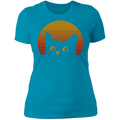 VINTAGE EIGHTIES STYLES CAT Ladies' Boyfriend T-Shirt
