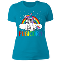 PUGICORN Ladies' Boyfriend T-Shirt