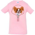 PAPILLON ZIP-DOWN Infant Jersey T-Shirt