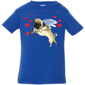PUG CUPID Infant Jersey T-Shirt