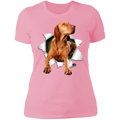 VIZSLA 3D Ladies' Boyfriend T-Shirt