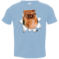 GERMAN SPITZ KLEIN 3D Toddler Jersey T-Shirt
