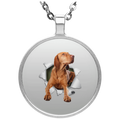 VIZSLA 3D Circle Necklace