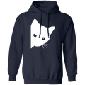 CUTE SPY CAT LADIES Pullover Hoodie 8 oz.