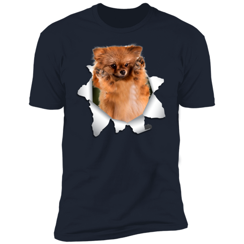 GERMAN SPITZ KLEIN 3D Premium Short Sleeve T-Shirt