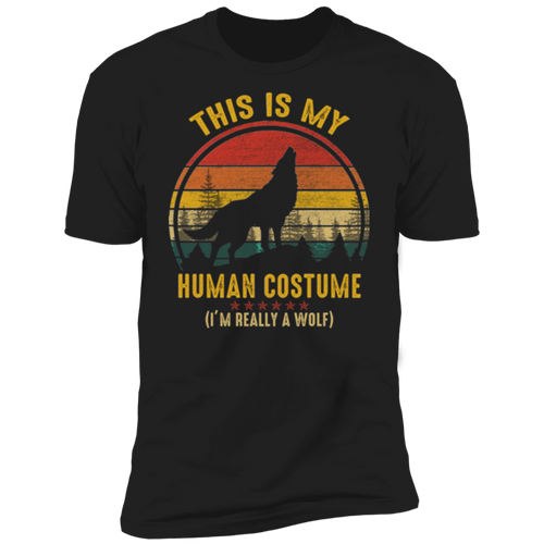 THIS IS MY HUMAN COSTUME Premium Short Sleeve T-Shirt