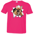 FRENCH BULLDOG 3D Toddler Jersey T-Shirt