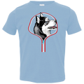HUSKY ZIP-DOWN Toddler Jersey T-Shirt
