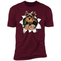 YORKSHIRE TERRIER 3D Premium Short Sleeve T-Shirt