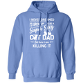 SUPER SEXY CAT DAD Pullover Hoodie 8 oz.