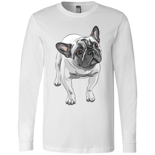FUNNY ENGLISH BULLDOG Men's Jersey LS T-Shirt