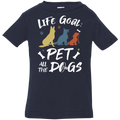 PET ALL THE DOGS Infant Jersey T-Shirt