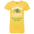 THIS IS MY HUMAN COSTUME Girls' Princess T-Shirt